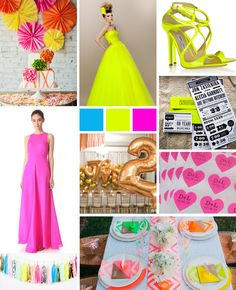 Neon Inspiration Boards