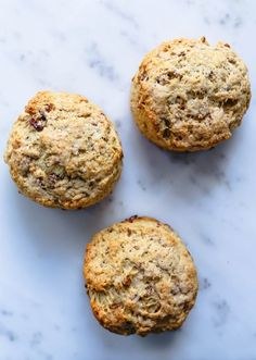 Browned butter pecan biscuits - Broma Bakery Butter Pecan, Brown Butter, Breakfast Bake, Breakfast Recipes, Breakfast Items, Breakfast Muffins, Sweet Breakfast, Broma Bakery, Joy The Baker