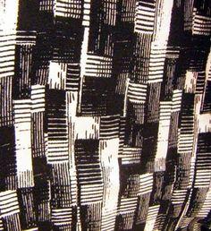 b&w check - print & pattern