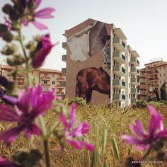 Hyuro street art Festiwall ragusa Sicily http://www.blocal-travel.com/italy/south-italy/sicily/ragusa/ragusa-off-beaten-path/