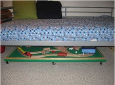 Under-the-Bed Train Table