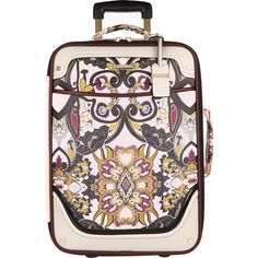 Designer Clothes, Shoes & Bags for Women River Island Luggage, Pink Scarves, Suitcase, Travel Stuff, Polyvore, Bags, Handbags, Briefcase, Bag
