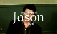 This name does fit in a way afterall JD did see his doing as healing the world... but I really doubt his name was looked into