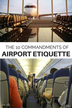 Don't break any of these rules of airport etiquette next time you travel!