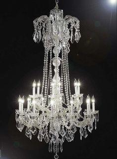 Maria Theresa 18 Lights Crystal Chandelier
