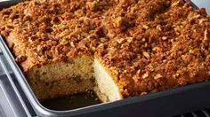 Look at this recipe - Sour Cream Pecan Coffee Cake - from Anna Olson and other tasty dishes on Food Network. Cake Recipe Food Network, Food Network Uk, Food Network Canada, Food Network Recipes, Anna Olson, Baking Recipes, Cake Recipes, Dessert Recipes, Pecan Recipes