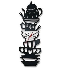 I want this clock :) it's go great In a room made into a quiet library & it'd be alice and wonderland themed