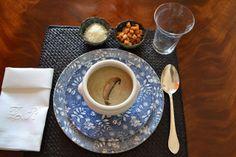 Crema de champiñón Cooking, Tableware, Soups, Vegetables, Recipes, Kitchen, Dinnerware, Tablewares, Dishes