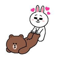The perfect Brown Bear And Animated GIF for your conversation. Discover and Share the best GIFs on Tenor. Cute Cartoon Images, Cute Couple Cartoon, Cute Love Cartoons, Cute Cartoon Wallpapers, Love You Gif, Cute Love Gif, Cute Love Pictures, Friends Gif, Line Friends