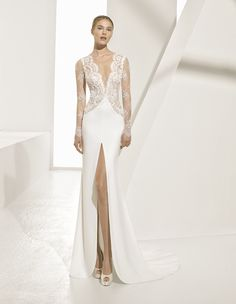 Couture wedding dress collection from Rosa Clará