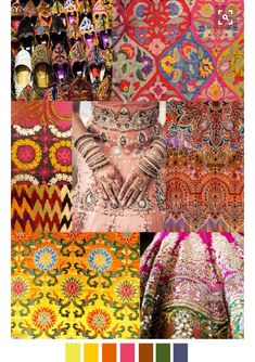 SUNDARA from Pattern Curator Design trend and mood board 2016 Fashion Trends, 2015 Trends, Fashion Colours, Colorful Fashion, Fashion Patterns, Pinterest Trends, Fashion Forecasting, Moda Fashion, Color Trends