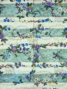 Image of flowered textile design, by william kilburn. england, late century by V&A Images Textile Prints, Textile Patterns, Print Patterns, Floral Patterns, Vintage Textiles, Vintage Patterns, Motif Floral, Floral Prints, Watercolor Design