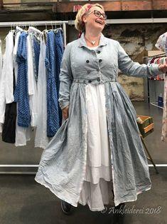 Ewa i Walla Mantel Striped Twill Original 66302 SS18 | Ankleiderei | Online-Shop für skandinavische & französische Mode
