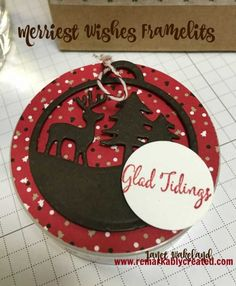 Stampin' UP! Merriest Wishes