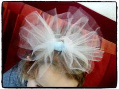 serre-tête de princesse avec de la tulle, déguisement princesse, diy enfant