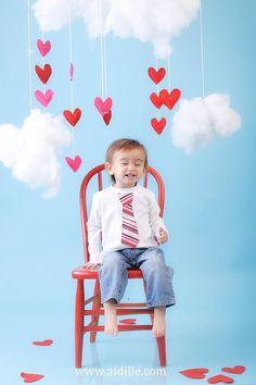 Valentine's Day Tie Shirt <3 Photo by Artsy Tartsy Photography