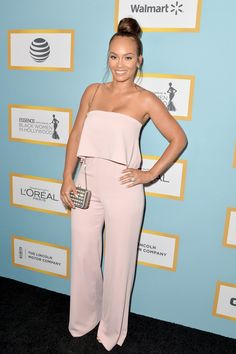 2/25/16 - Evelyn Lozada at the 2016 ESSENCE Black Women In Hollywood Awards Luncheon in Beverly Hills.
