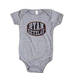 Ryan Getzlaf NHLPA Officially Licensed Anaheim Onesie 3-24 Months Ryan Getzlaf Puck K