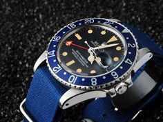Rolex GMT 1675 spotted here a full red GMT hand!