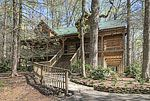 *Smokies Sanctuary* is a private three bedroom log cabin with three bathrooms with easy access and wonderfully decorated in what we like to refer to as the Great Smoky Mountains meets Jackson Hole.