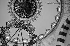 turkish mosque lanham maryland Black and White photography