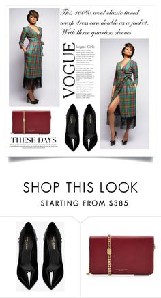 """SHOP - Elevin"" by ladymargaret ❤ liked on Polyvore featuring Yves Saint Laurent and Marc Jacobs"