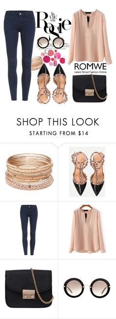"""""""Romwe18"""" by mila96h ❤ liked on Polyvore featuring Whiteley, Red Camel, Clinique, Miu Miu and romwe"""