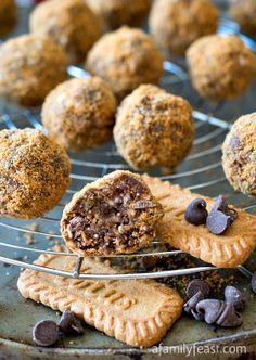 #Recipe: Crispy Chocolate Biscoff #Truffles