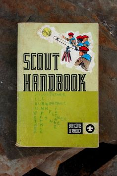 1965 boy scout handbook vintage boys vintage and eagle scout boy scout handbook vintage fandeluxe Image collections