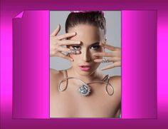 Collar y anillitos de falange. FB: Alejandra Aceves Diseño de Autor. Modelo: Frida Astrid; Maquillaje y peinado: Miguel Sanromán; Foto: Andrés D. Larsen.