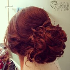 Wedding Hair by Stephanie Brinkerhoff milk_shake #hair products keep your hair healthy