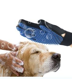 Dog Grooming Pet Products Collection Here Dog Hot Sale Foam Rubber 1pc Pet Cat Hair Cleaning Brush Portable Popular Professional High Quality Pet Supplies Hand Brush Bright In Colour
