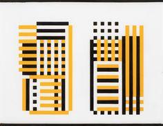 Josef Albers, Lauben (Trellis), 1929; «Becoming Bauhaus: the defining eras of Josef Albers, at Stephen Friedman», 12 February 2016, by Jessica Klingelfuss, Wallpaper* Magazine/ The Josef and Anni Albers Foundation/