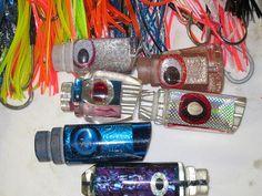 homemade fishing lures