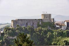 Castillo de San Vicente de la Barquera .Cantabria.Spain.