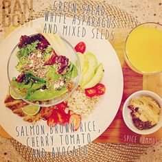 Colourful Healthy Lunch #healthy #healthychoices #getfit #fitfood #cleaneating