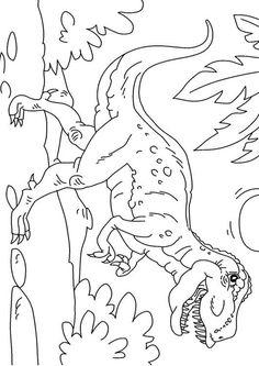 ausmalbilder dinosaurier t-rex | dinosaurier ausmalbilder