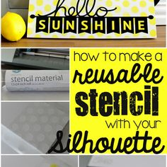 This post is brought to you by Silhouette .  Hello! I know one of the new products from Silhouette that everyone has been talking about is t...