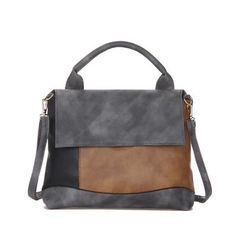 Fashion Patchwork Pu Leather Handbags Casual Women Luxury Brand Shoulder Bag Designers for Women 2017 Ladies Hand Bags handbags Fashion leather articles at 60 % wholesale discount prices Fashion Handbags, Fashion Bags, Style Fashion, Fashion Accessories, Leather Design, Vintage Handbags, Bag Sale, Bago, Luxury Branding