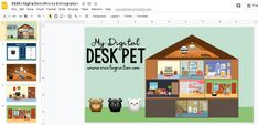 Really love this idea. Think it could also be combined with learning mascots or a project on vocabulary! Classroom Management Plan, House Template, Learning Time, Seesaw, Pet Home, Too Cool For School, Google Classroom, Stem Activities, Craft Storage