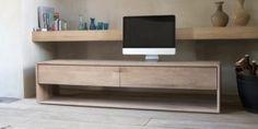 Eiken tv-meubel Nordic
