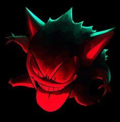 Gengar Pokemon, Ghost Pokemon, Pokemon Go, Naruto Uzumaki Hokage, Cool Pokemon Wallpapers, Neon Wallpaper, Pokemon Fusion, Pokemon Pictures, Catch Em All