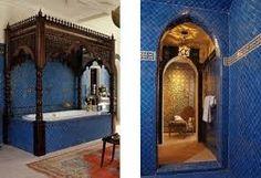 Image result for TURKISH BATHROOM TILE IN BLUE
