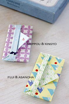 折り紙でポチ袋