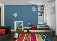 Would Love have a secret door for my little boy to get to our room in case of emergency^__^#kids playroom#secret door#dream home