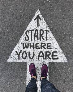 It doesn't matter where you start; it matters where you finish! Stay positive and stay active! Brooks Running | Runspiration Running Inspiration, Fitness Inspiration, Start Where You Are, Keep Running, Stay Active, Mind Over Matter, Staying Positive, Good Advice, Life Is Good