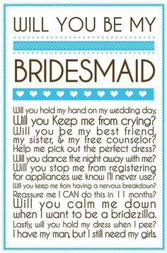 Great ways to ask your girls to be your bridesmaids