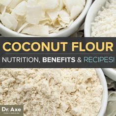 What do you need to know about coconut flour nutrition? Coconut flour is high in fiber, protein, and healthy fats and is free from wheat and other grains. It is also low in sugar, digestible carbohydrates and calories, and has a low score on the glycemic index.  This makes coconut flour a favorite amongst paleo dieters, gluten free eaters including those with Celiac Disease or a gluten sensitivity, those with digestive problems like leaky gut syndrome, anyone with a nut allergy....
