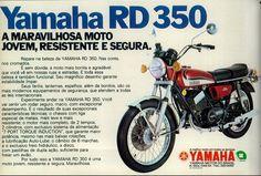 Anúncio moto Yamaha RD 350 - 1973