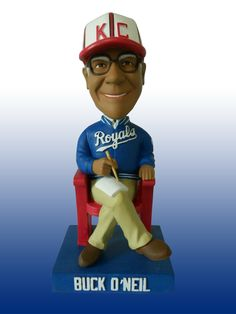The #Royals annual salute to the Negro Leagues is Saturday! 1st 20k fans get a Buck O'Neil Bobble...